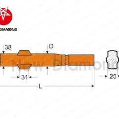 Parts Of A Drill Bit Diagram Dodge Ram Front End Carbide Dth Spare Shank Adapter For Water Well Drilling