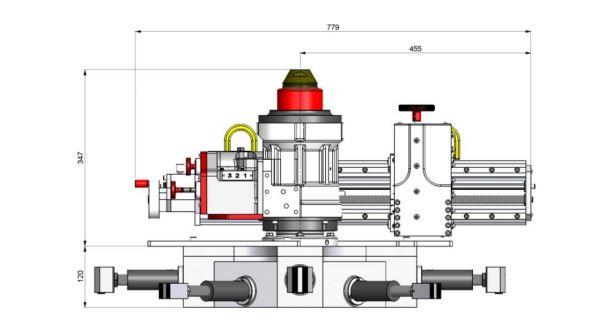Factory Manufacturer Portable Flange Facer Machine For