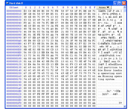 data recovery with hex editor