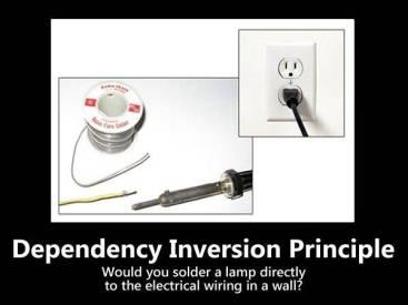princípio de inversão de dependência
