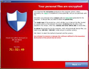 Ransomware, Bitcoin