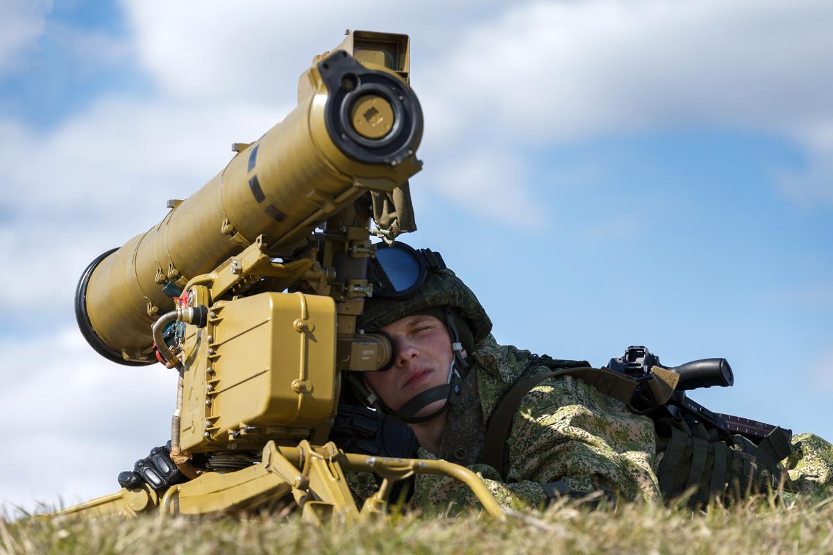 戰車兵的夢靨:俄製反戰車飛彈 - 尖端科技 軍事資料庫