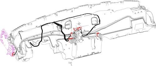 small resolution of door harness heated mirror cb antenna inside cab
