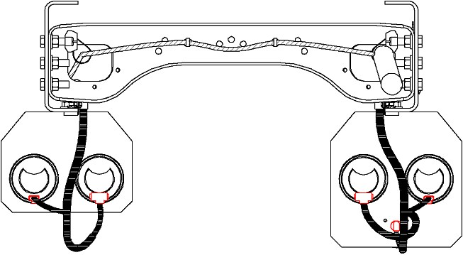 Business Class M2 112 EPA07 Tail Light Wiring: Tail Light View