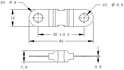 23-13648-150 : 150 Amp Fuse