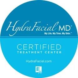 hydrafacial certified