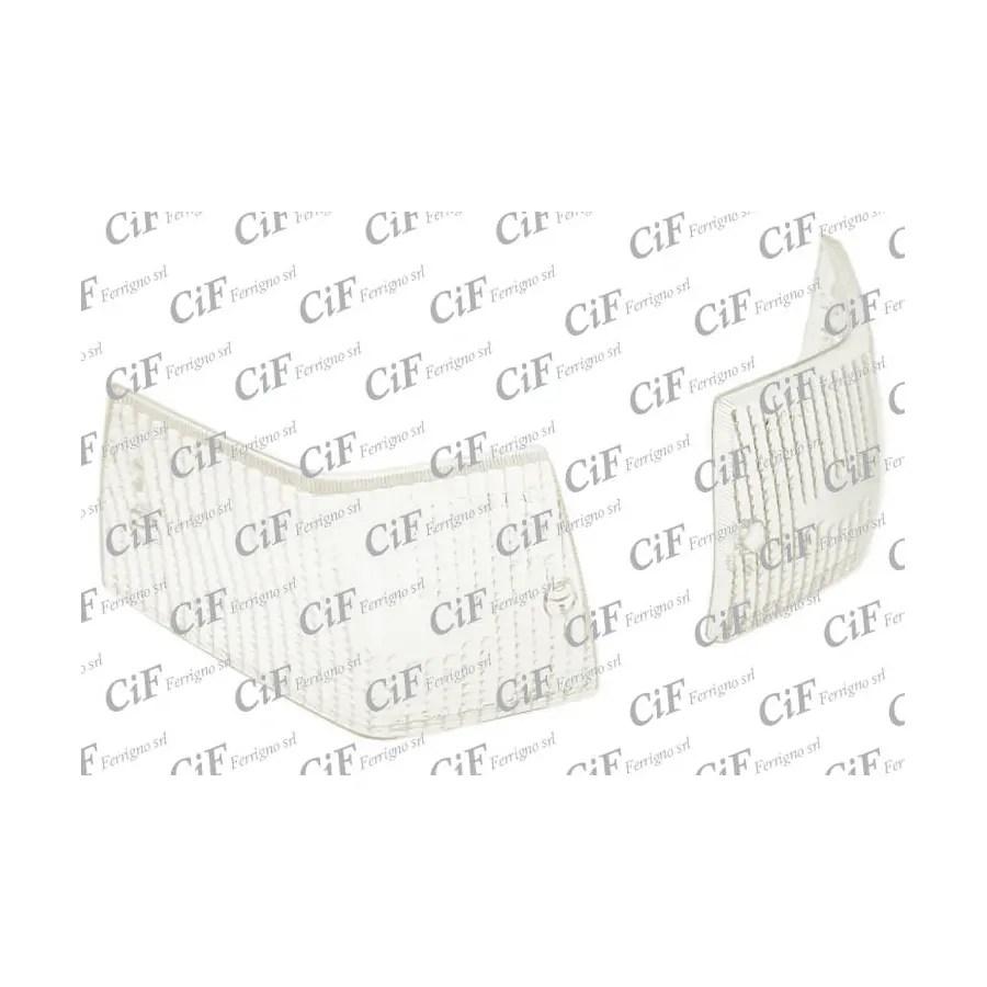 Coppia gemme posteriori colore bianco Vespa P 125-150X
