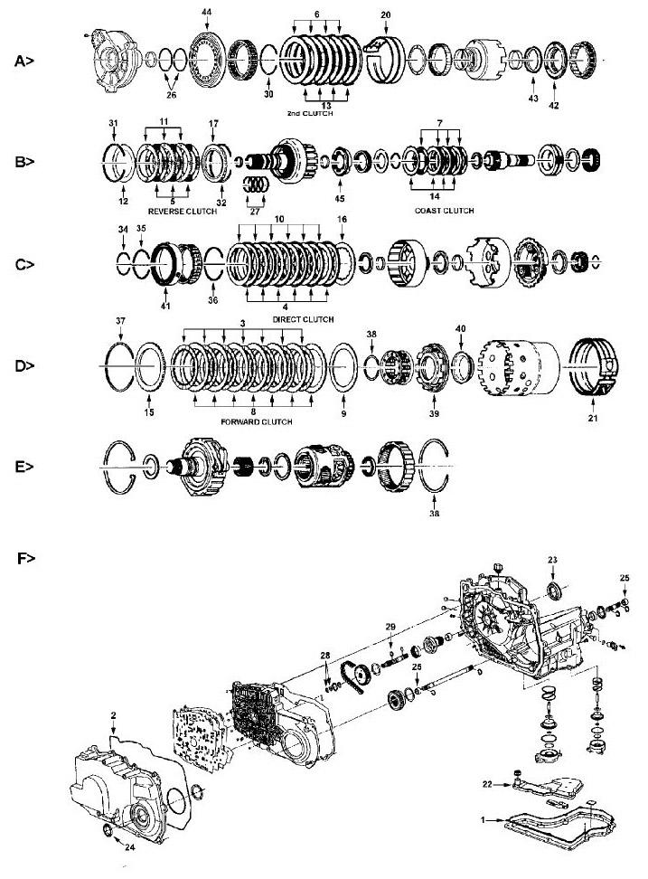 4t40e Gm Transmissions Parts Diagram. Diagram. Auto Wiring