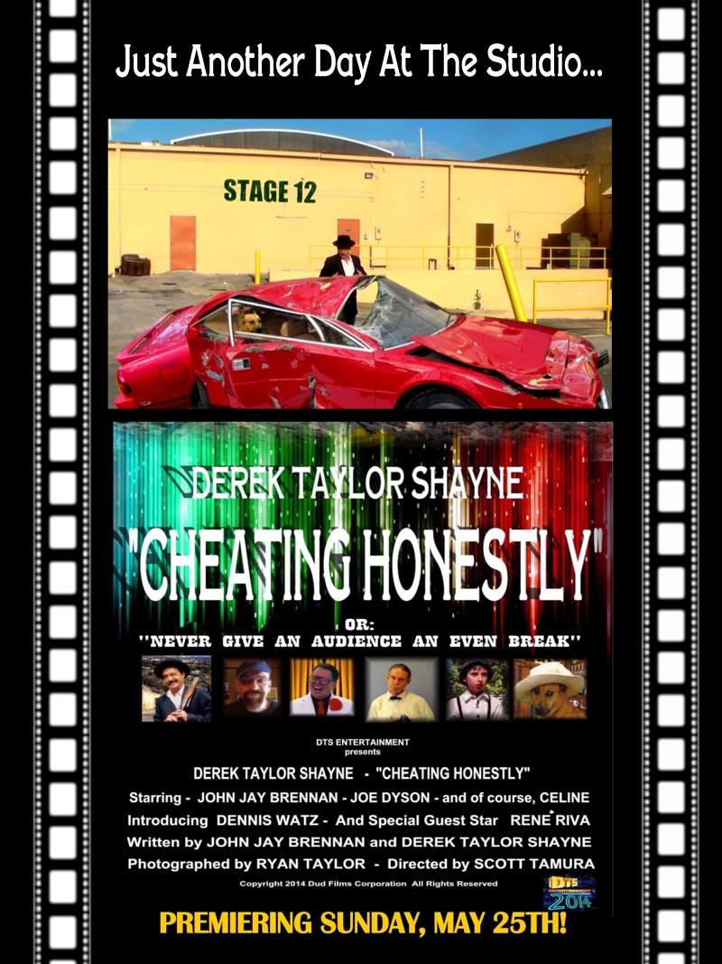 "Poster for the DTS Entertainment Comedy Film, ""Cheating Honestly"""""