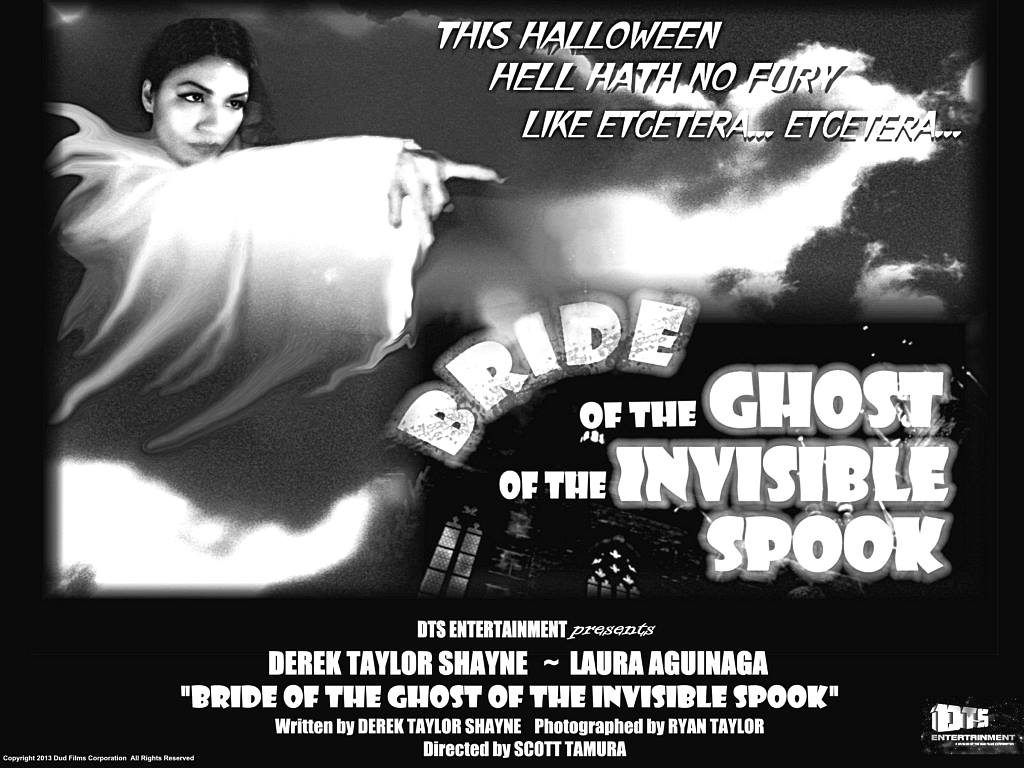 "Lobby Card for the DTS Entertainment Comedy Film, ""Bride of the Ghost of the Invisible Spook"""""
