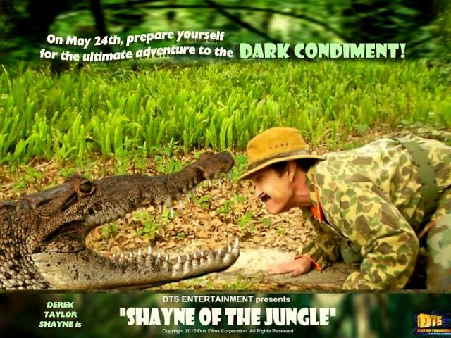 "Lobby Card for the DTS Entertainment Comedy Film, ""Shayne of the Jungle"""