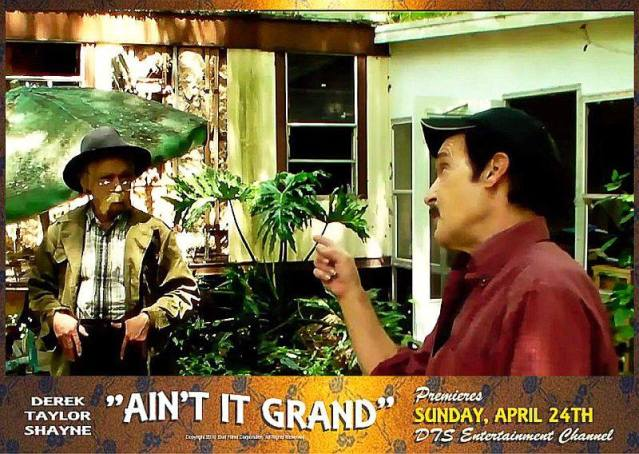 """Lobby Card for the DTS Entertainment Comedy Film, """"Ain't It Grand"""""""