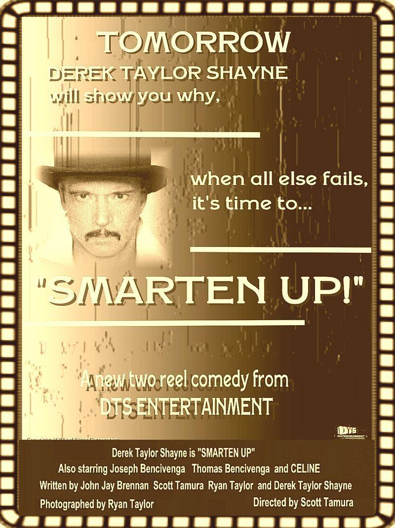 "Poster for the DTS Entertainment Comedy Film, ""Smarten Up!"""