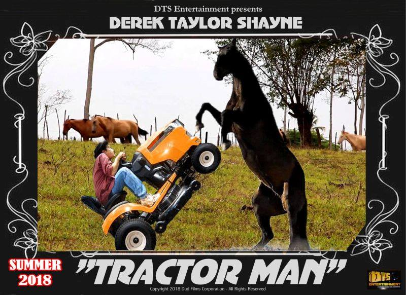 "Lobby Card for the DTS Entertainment Comedy Film, ""Tractor Man"""