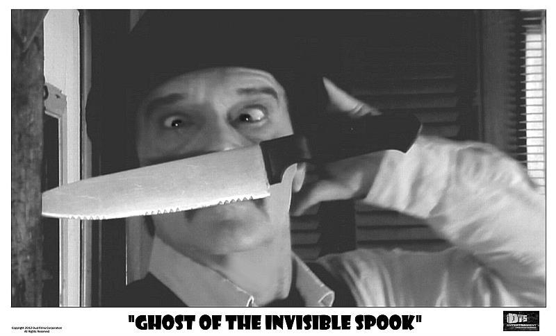 "Lobby Card for the DTS Entertainment Comedy Film, ""Ghost of the Invisible Spook"""