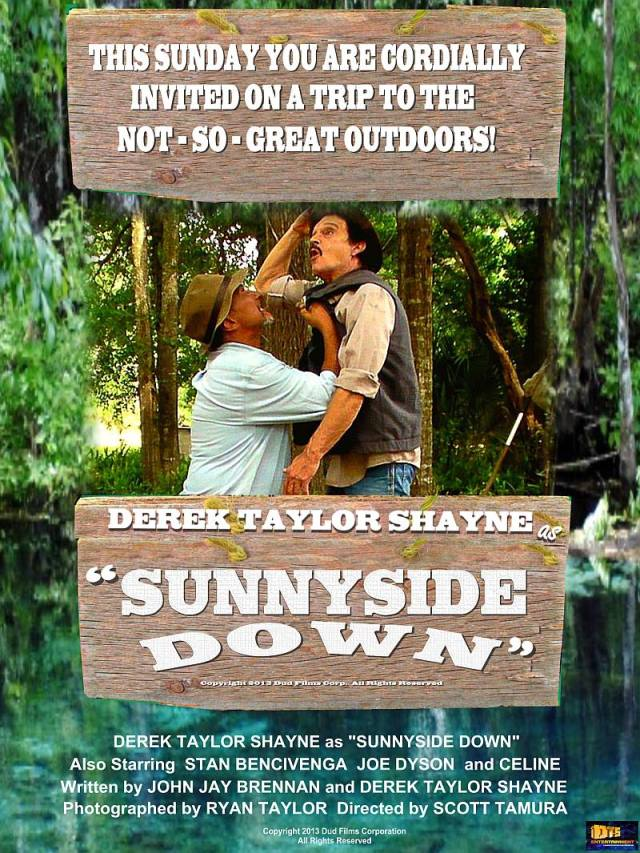 "Poster for the DTS Entertainment Comedy Film, ""Sunnyside Down"""""