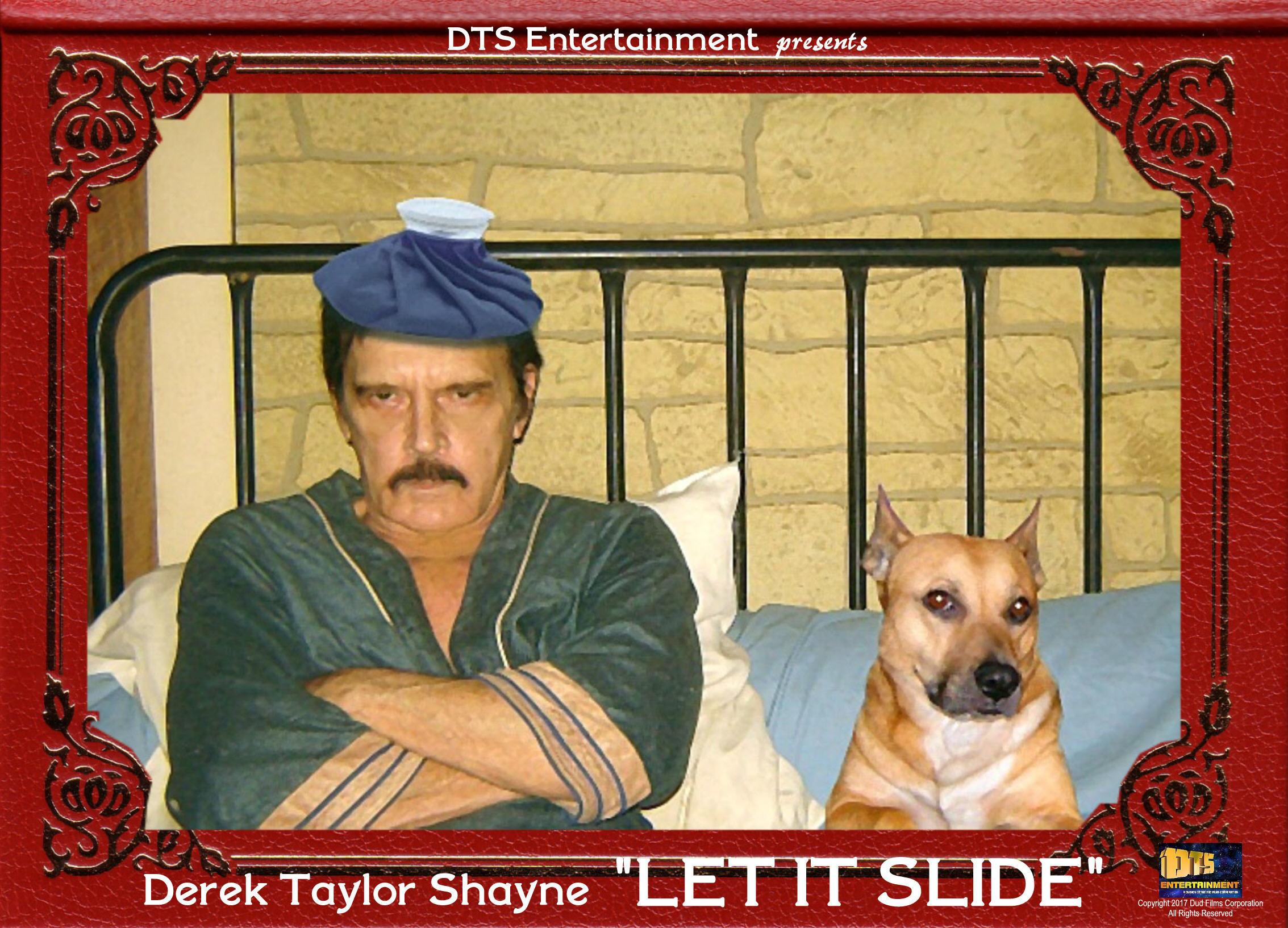 "Lobby Card for the DTS Entertainment Comedy Film, ""Let It Slide"""