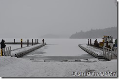 Looking East from the Hayden Lake City Dock.