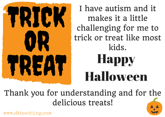 Happy halloween Trick or Treat postcards