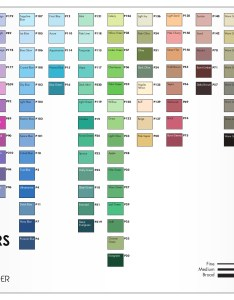 Chartpak ad marker color chart also view charts du all art  drafting supply rh duall