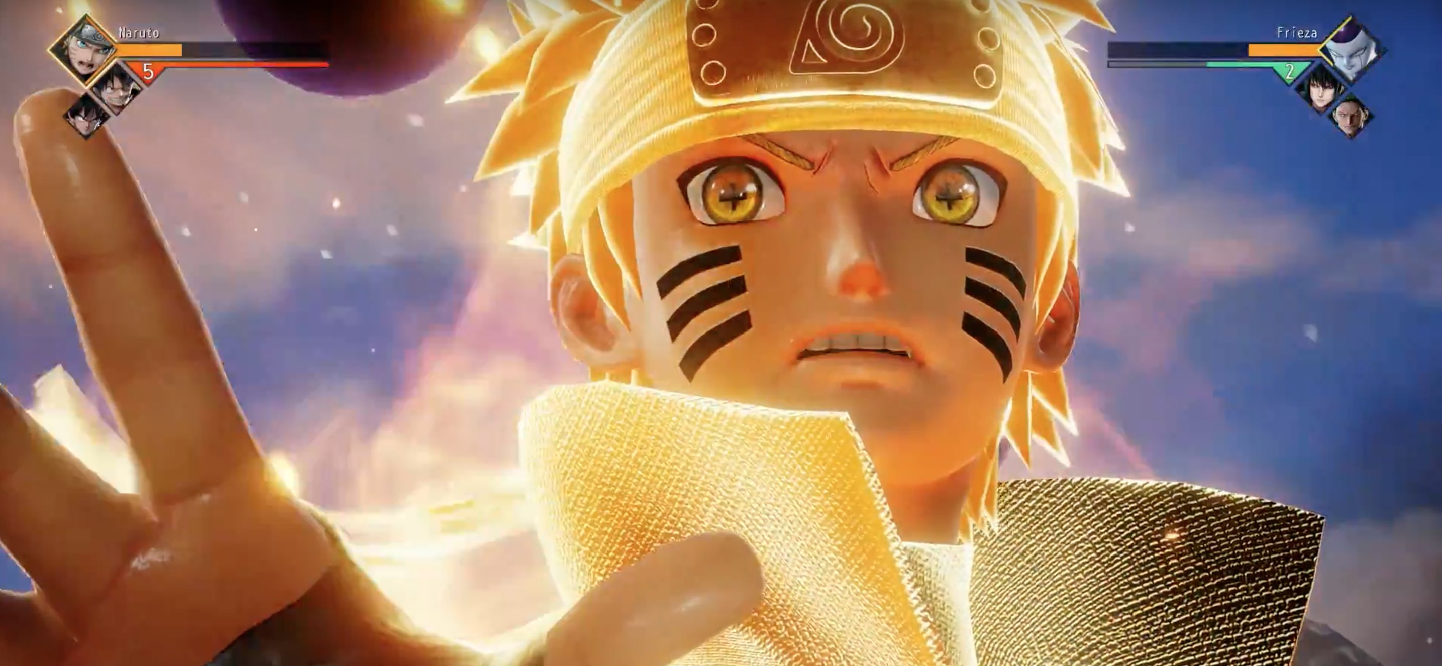 Naruto's command of chakra is unequaled in his world. New Jump Force Gameplay Trailer Shows Dragon Ball One Piece And Naruto Heroes In Action