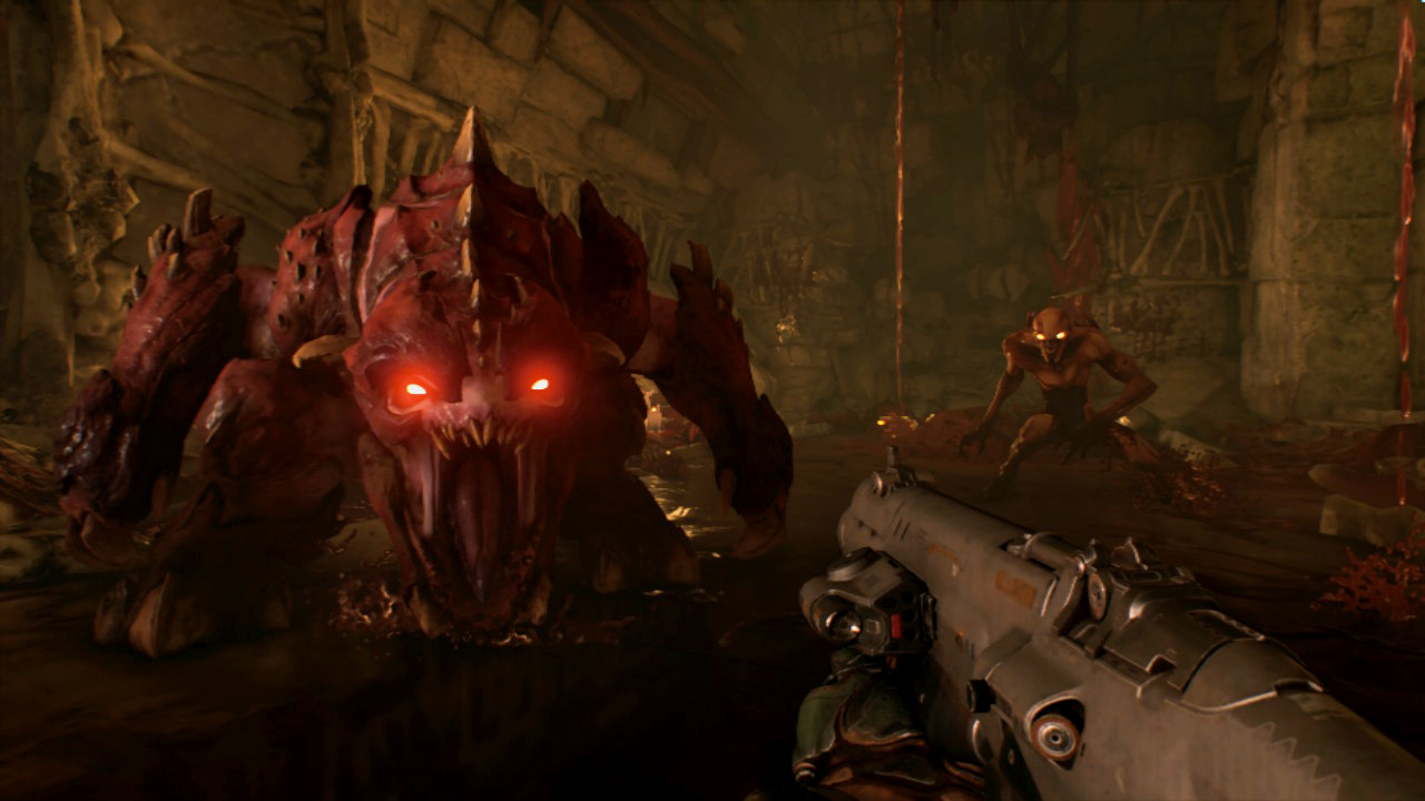 DOOM for Nintendo Switch Preview -- Hell on the Go