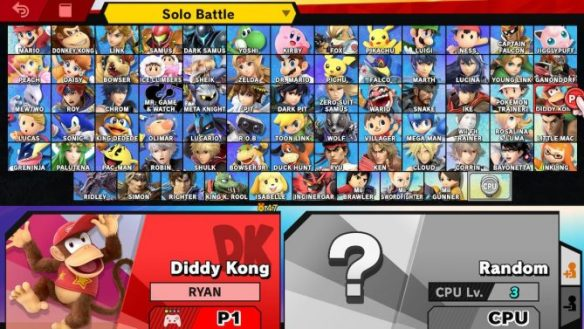 Here Are Some Tips for Picking Your Main in Super Smash Bros