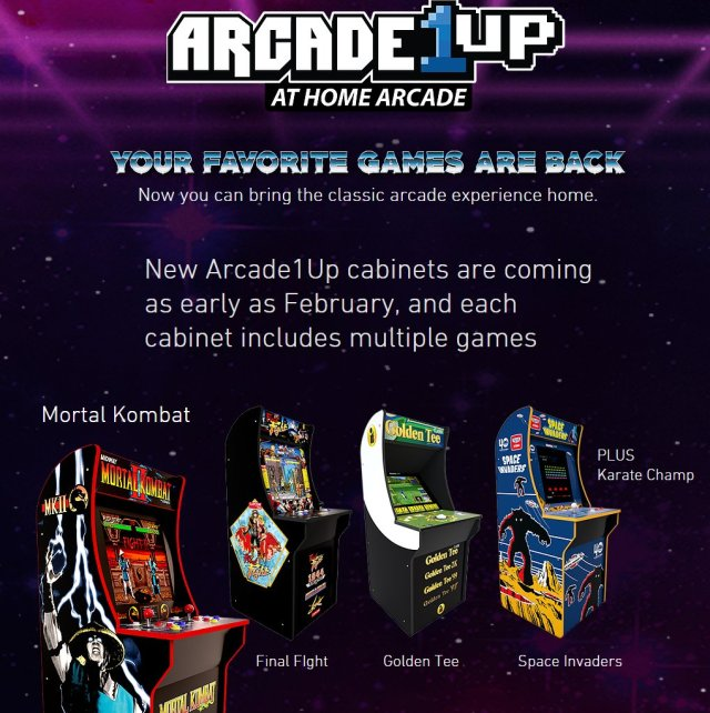 Arcade1Up Adds Mortal Kombat and More to its Lineup | Best