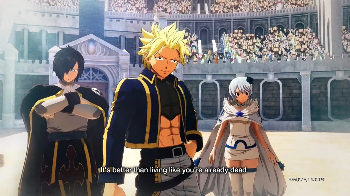 Fairy Tail RPG Trailer Reveals Ingame Look of the Characters ...