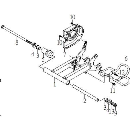 SMC Hornet 100 Frame Parts