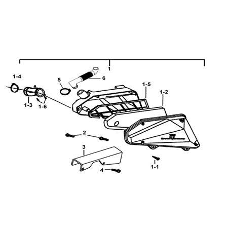 TGB Hornet 90cc Frame Spare Parts