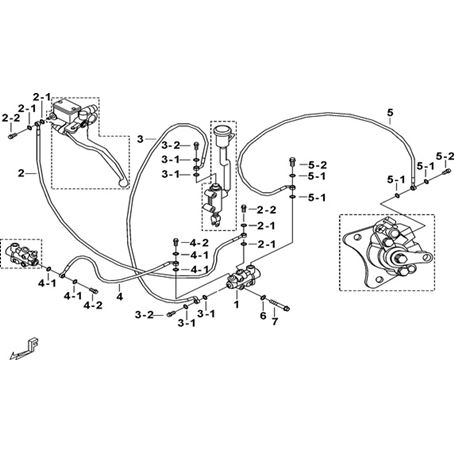 TGB Blade 550 IRS LT Frame Parts