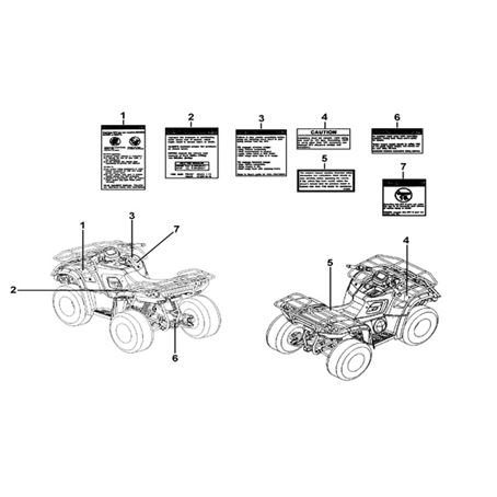 TGB 550 SL IRS Body Parts