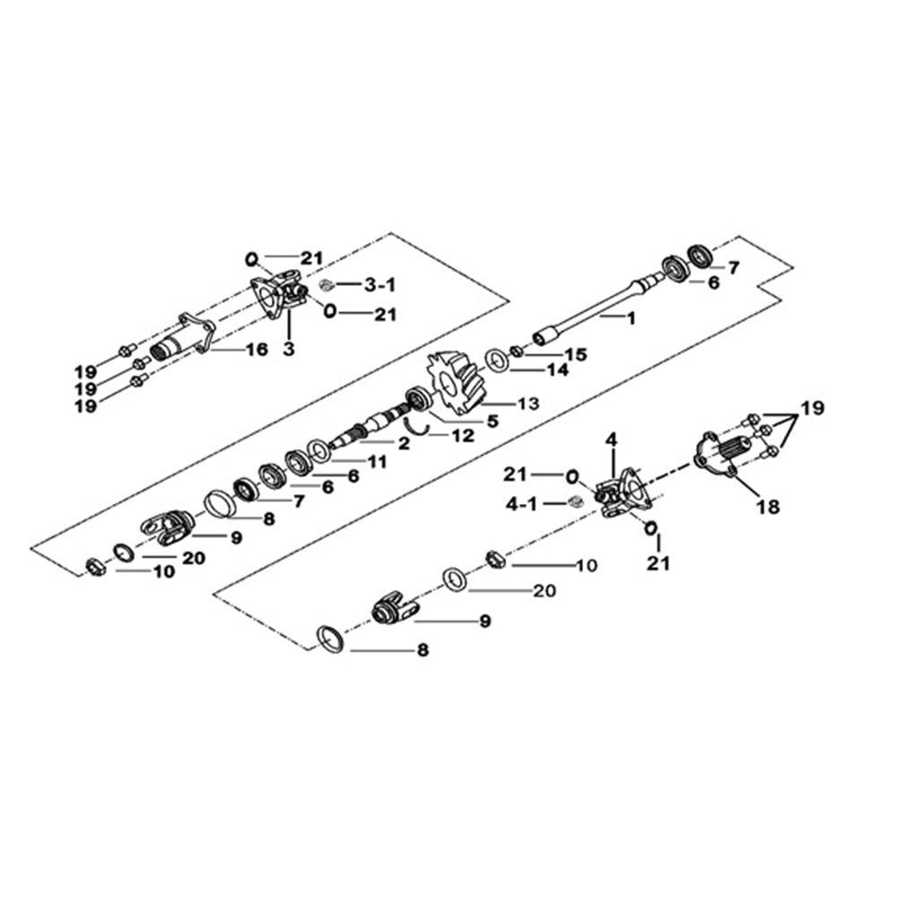 Tgb Blade 425 Engine Parts Transmission