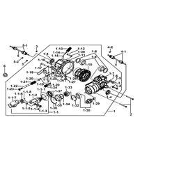 TGB Blade 550 Facelift IRS EFI Engine Parts