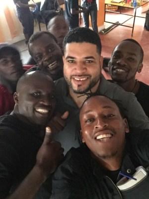 Duane in Kenya