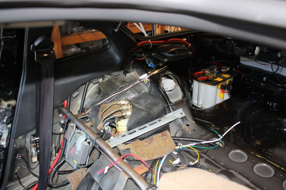 medium resolution of 300zx restoration battery relocate duanedibley com 10 the battery tray holder was mounted in the trunk