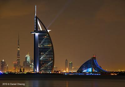 Where Can I Find A Dubai Map With Burj Al Arab Hotel's