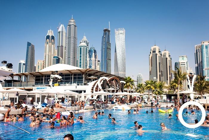 Zero Gravity  Nightclub in Dubai