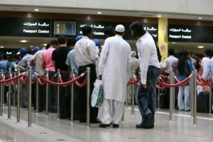 Passport Control Queues at Dubai Airport