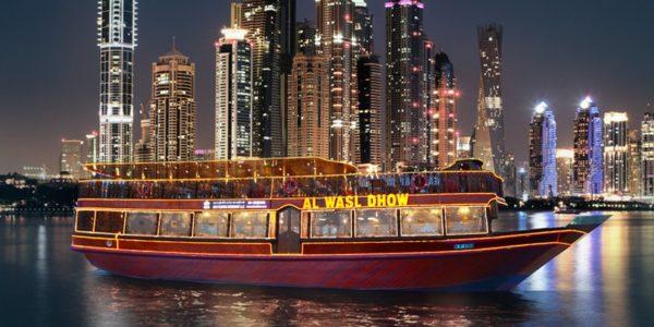 dhow-cruise marina dubai