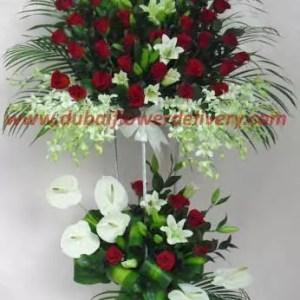5 feet flowers stand premium