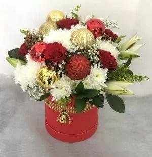 Star Night Christmas Flowers