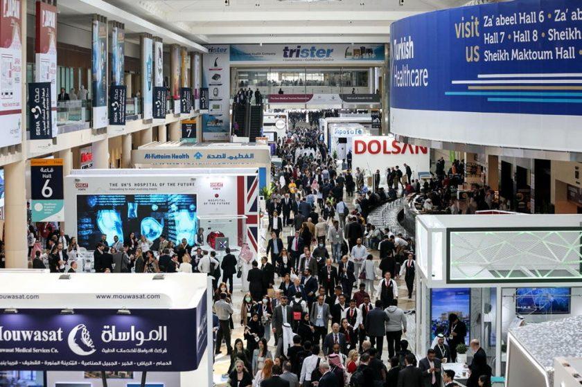 Ruler of Dubai visits 45th edition of Arab Health