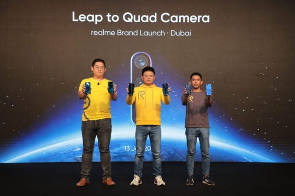 Dare to Leap for the Young – realme Officially Launched in UAE