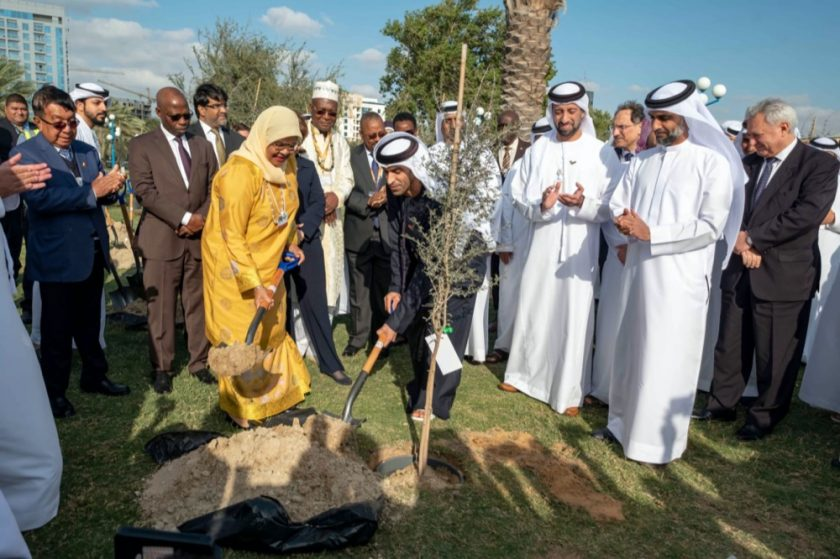 400 Trees are Planted to Mark Legacy of 10th World Urban Forum