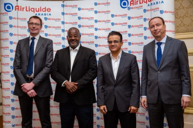 Air Liquide Arabia celebrates a key milestone as its Yanbu pipeline network kickstarts hydrogen supply