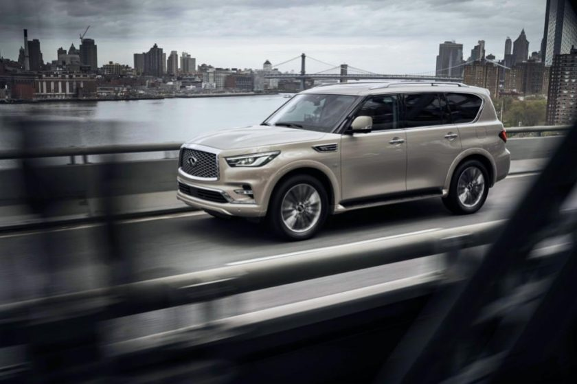 INFINITI of Arabian Automobiles Presents the Finest in Vehicular Safety and Engineering with the QX80