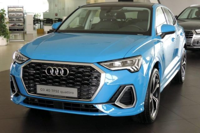 Now available at Al Nabooda Automobiles: the Audi Q3 Sportback