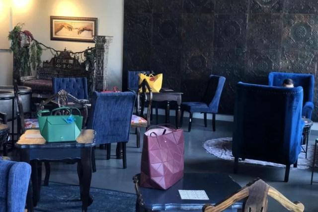 PURIFICACIÓN GARCIA COLLABORATES WITH BOHO CAFÉ FOR A FUN ORIGAMI WORKSHOP.